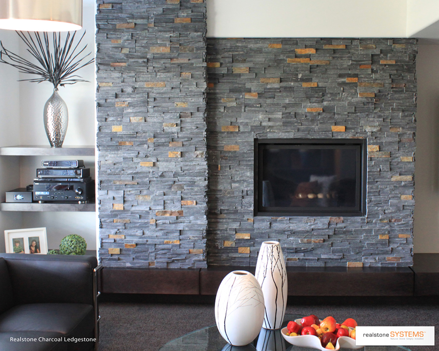 Natural thin stone veneer panels in Toronto, Ontario